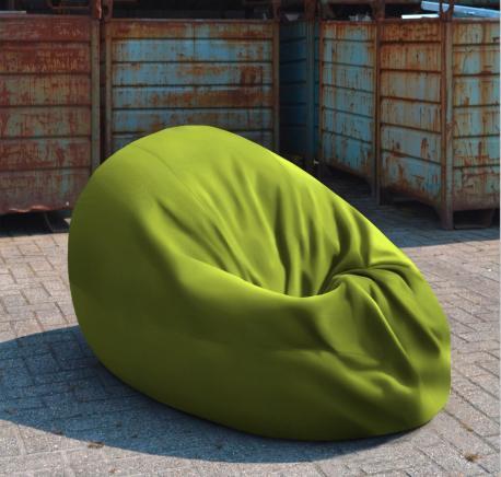Zitzak Cartenza uni Moss Green