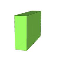 Vierkant Strak - Tuinstoel
